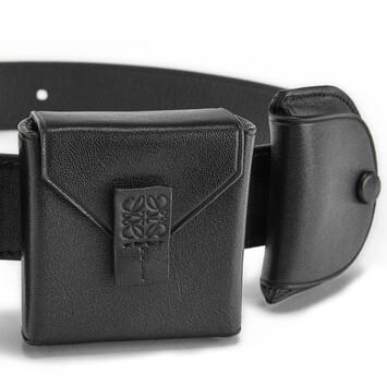 LOEWE Pocket  Belt Black front