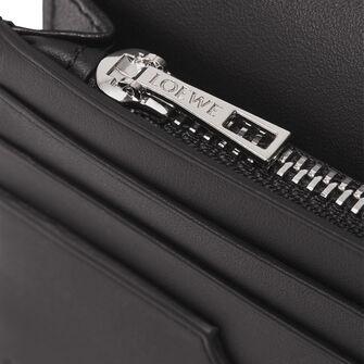 LOEWE Long Horizontal Wallet Vetiver/Black front