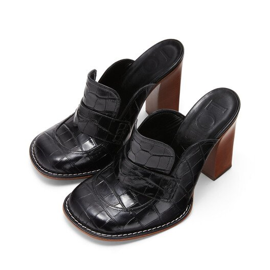 LOEWE Loafer 90 Negro front