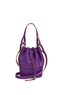 LOEWE Small Balloon bag in nappa and calfskin Purple pdp_rd