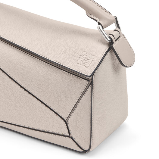 LOEWE Puzzle Small Bag Light Oat front