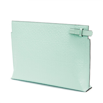 LOEWE T Pouch Repeat Menta front