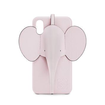LOEWE Funda Elefante Para Iphone X/Xs Rosa Hielo front