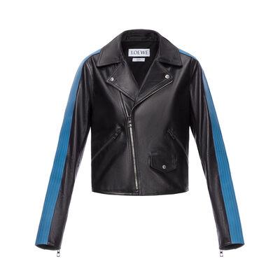 LOEWE Cazadora Negro/Azul front