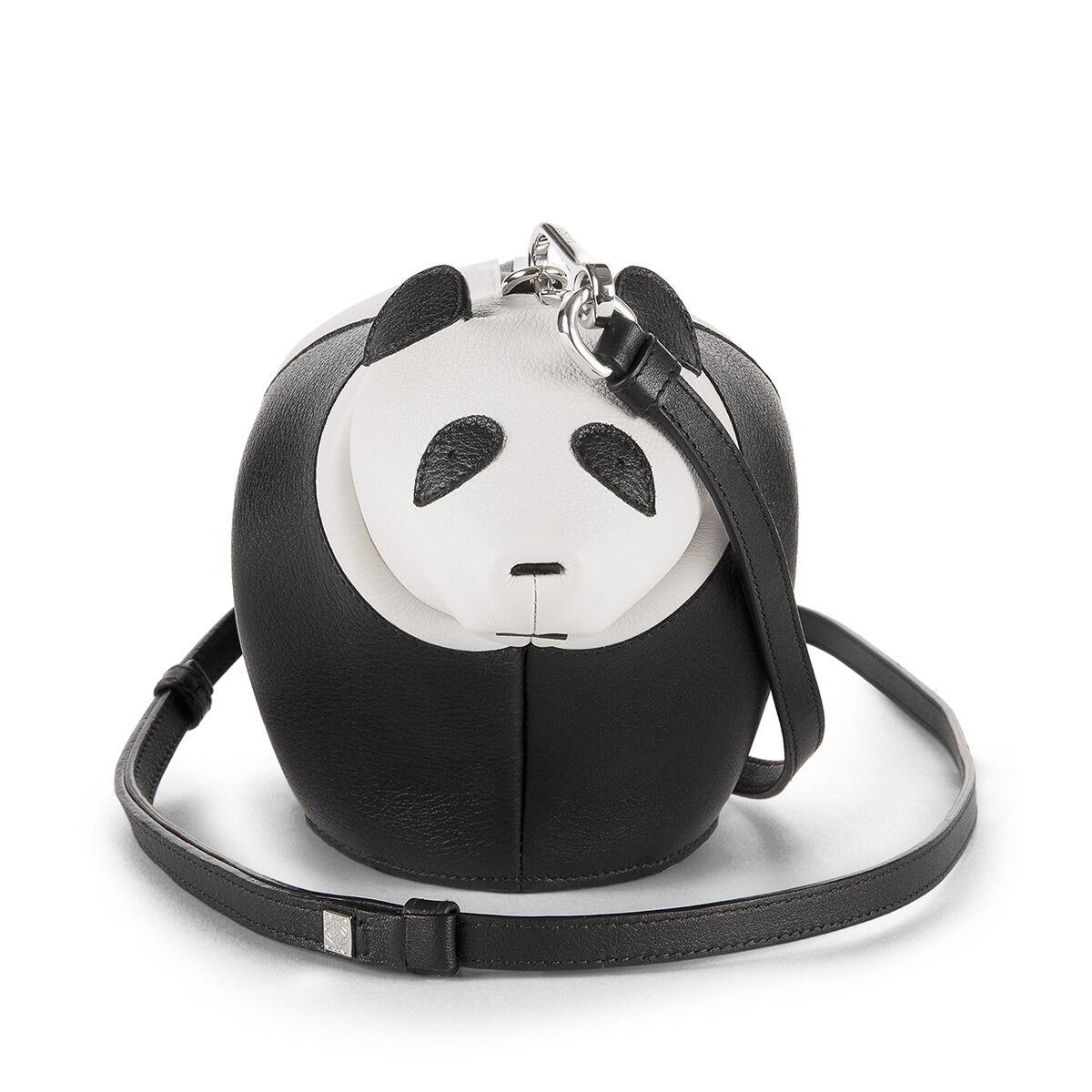LOEWE Mini Bolso Panda Negro/Blanco all