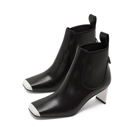 LOEWE Blade Heel Boot 70 黑色/白色 all