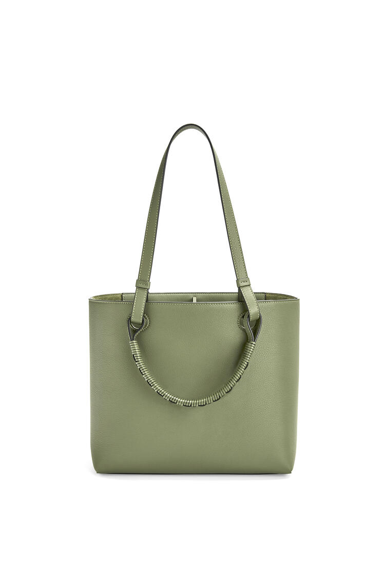 LOEWE Small Anagram tote bag in classic calfskin Rosemary pdp_rd