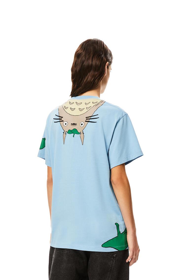 LOEWE 棉质龙猫T恤 蓝色 pdp_rd