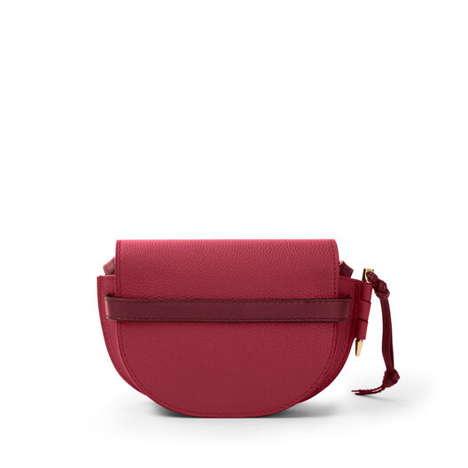 LOEWE Mini Gate Bag Raspberry/Wine all