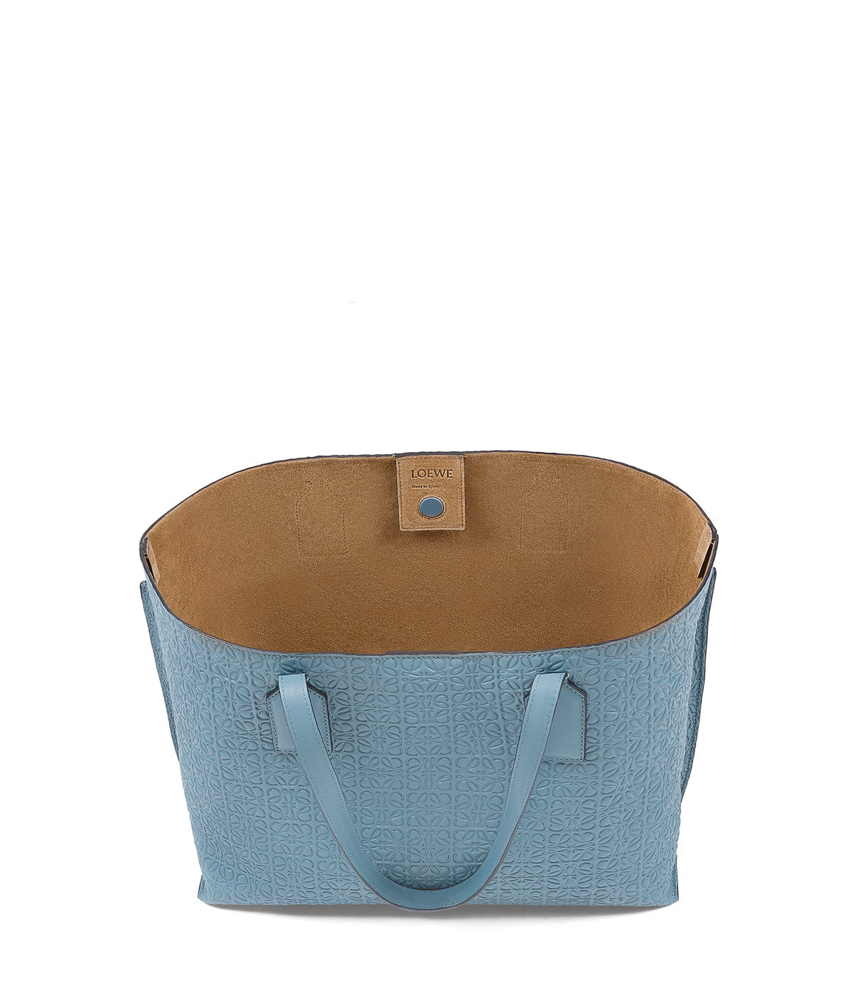 LOEWE Bolso T Shopper Azul Piedra front