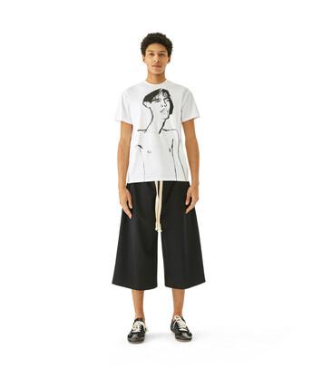 LOEWE Shorts Negro front