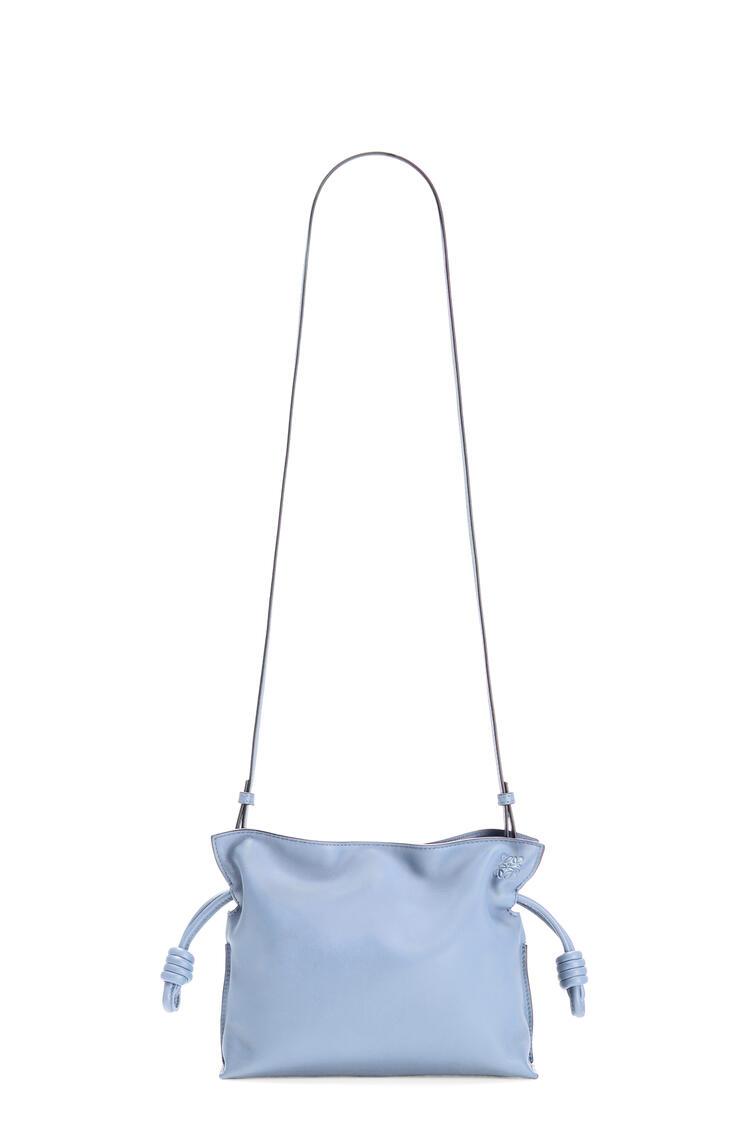 LOEWE Flamenco clutch in nappa calfskin Blue Lilac pdp_rd