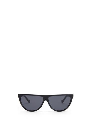 LOEWE Pilot Sunglasses in acetate 黑色 pdp_rd