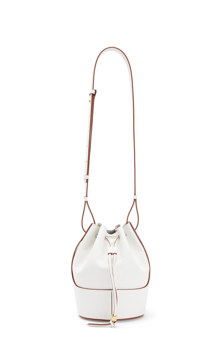 LOEWE Small Balloon Bag In Nappa Calfskin 白色 pdp_rd
