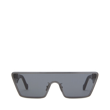 LOEWE Small Mask Sunglasses Anthracite front