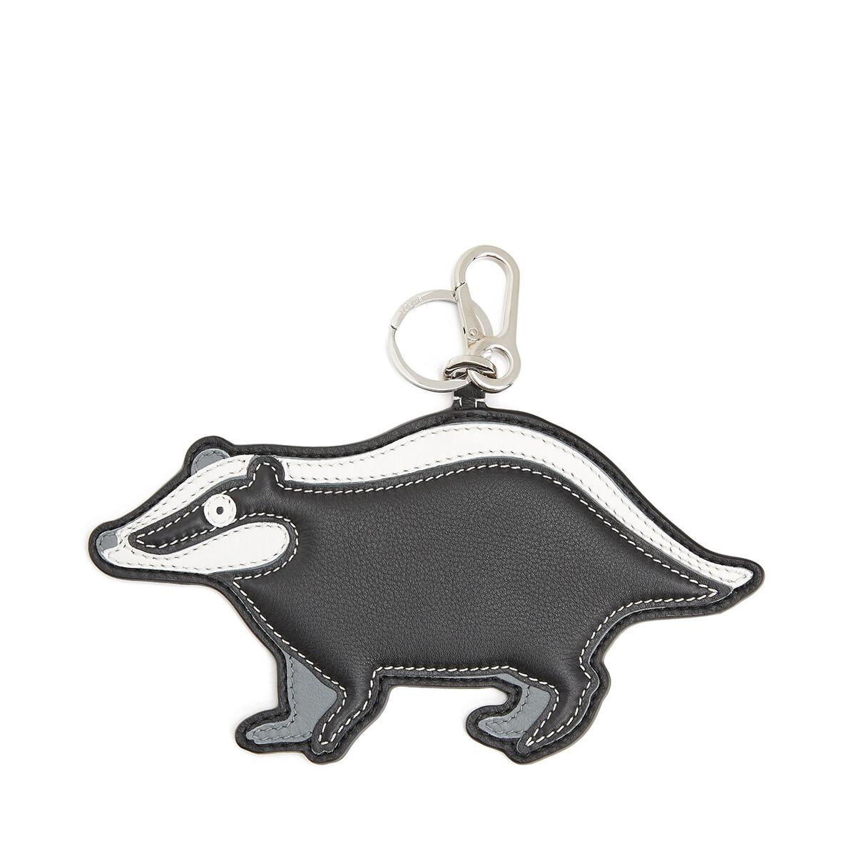 LOEWE Badger Charm White/Black front