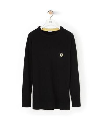 LOEWE Anagram Sweater Black front