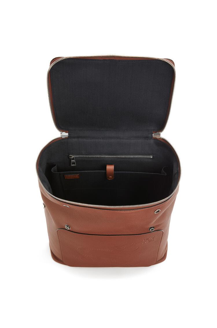 LOEWE ゴヤ バックパック(ソフト グレイン カーフスキン) Cognac pdp_rd