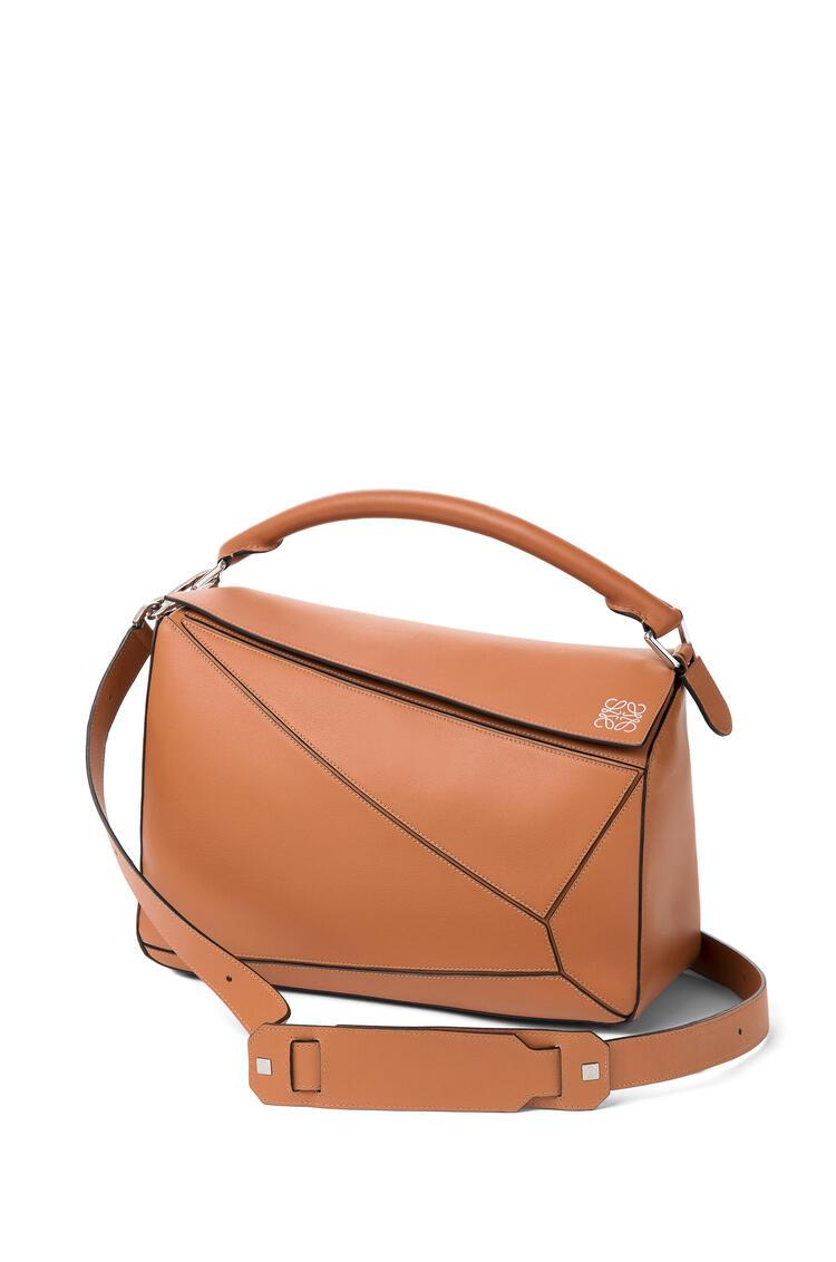 LOEWE Large Puzzle bag in classic calfskin 棕褐 pdp_rd