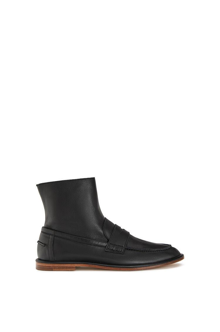 LOEWE Loafer boot in calfskin 黑色 pdp_rd