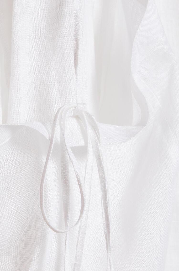 LOEWE カーゴ スカート (リネン) ホワイト pdp_rd