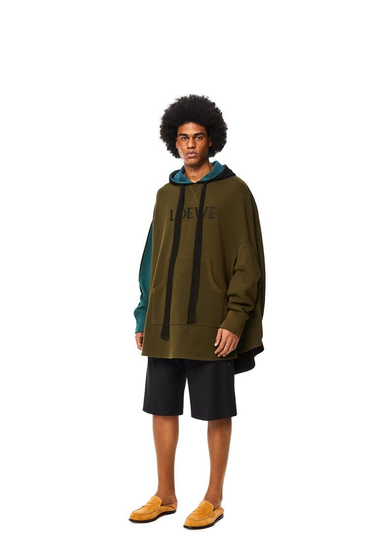 LOEWE Circle oversized hoodie in cotton Multicolor pdp_rd