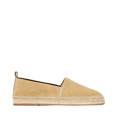 LOEWE Espadrille Oro Gold front