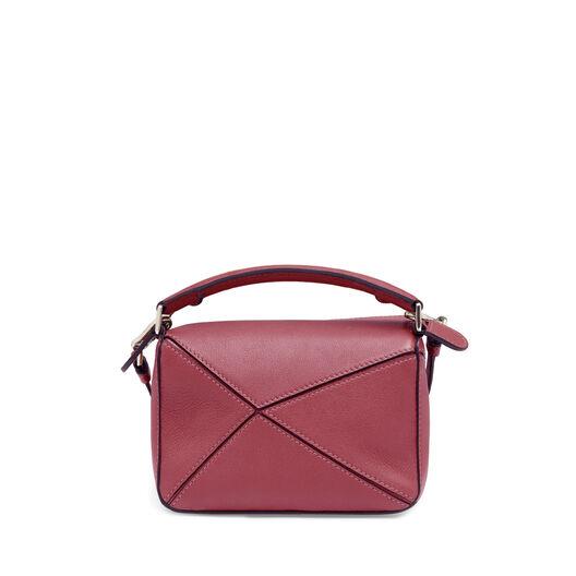 LOEWE Puzzle Mini Bag 覆盆莓色 front