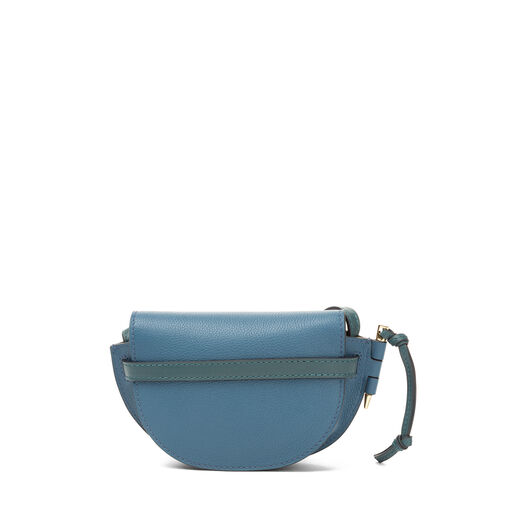 LOEWE Bolso Mini Gate Azul Petroleo/Cipres all