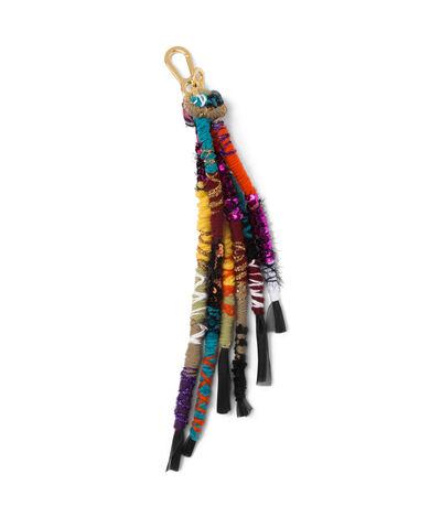 LOEWE Ateba Dreadlocks Charm Multicolor front