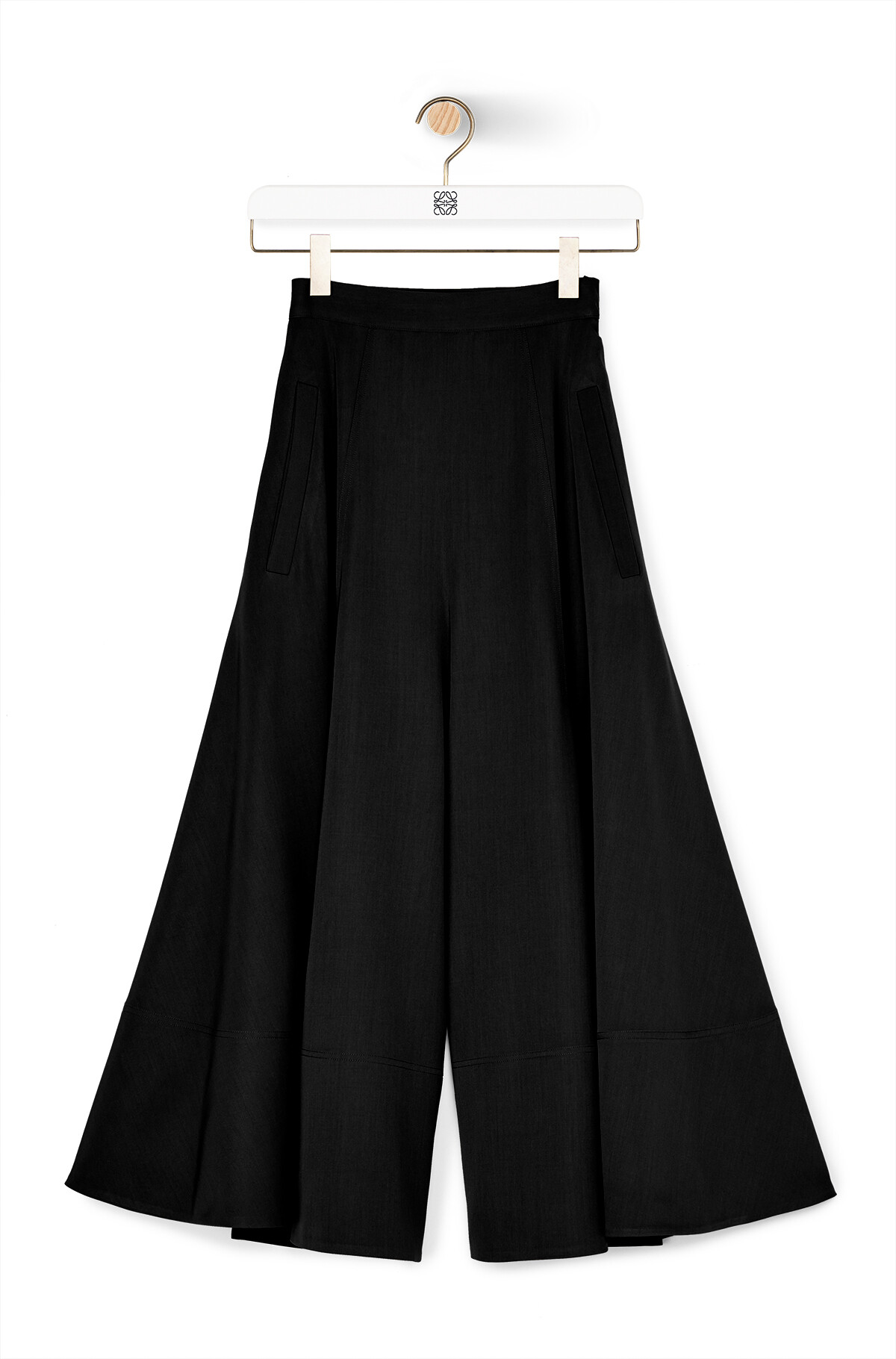 LOEWE Culotte Trousers Black front