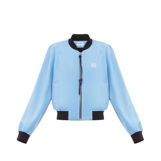 LOEWE Bomber Jacket Azul/Marino Oscuro all