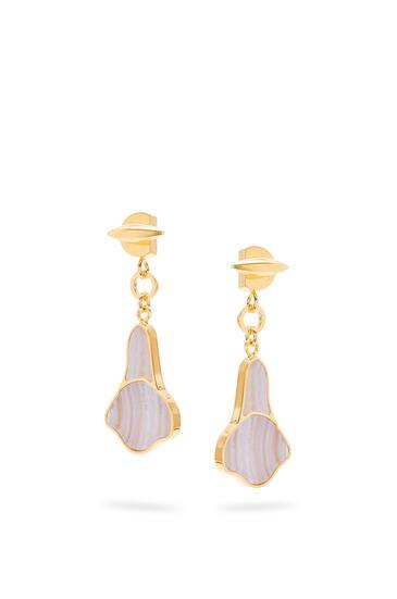 LOEWE Calla earrings in semi precious stones Lilac pdp_rd