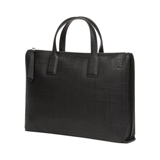 LOEWE Portadocumentos Simple Goya Negro all