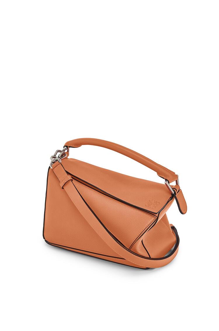 LOEWE Small Puzzle bag in classic calfskin Tan pdp_rd