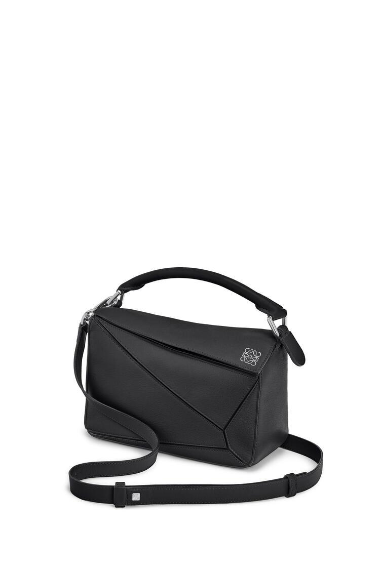 LOEWE Small Puzzle bag in classic calfskin Black pdp_rd