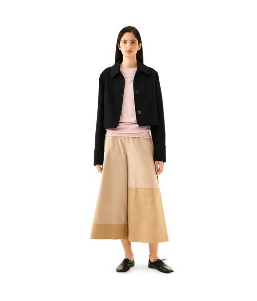 LOEWE Cropped Jacket Negro front