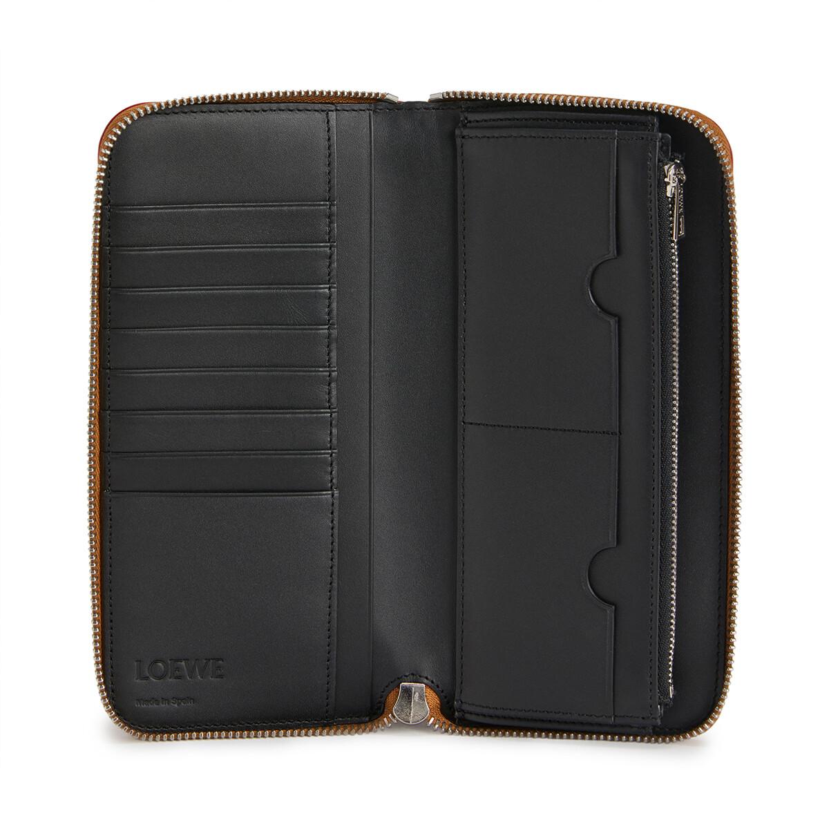 LOEWE Brand Open Wallet ハニー front