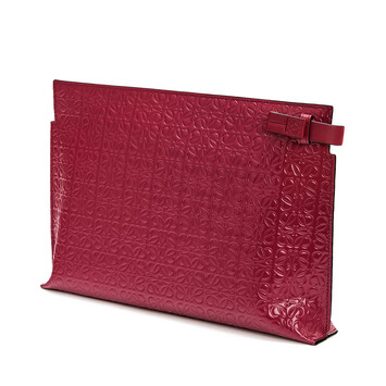 LOEWE T Pouch Repeat Frambuesa front