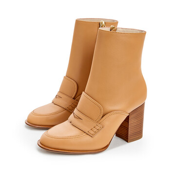 LOEWE Loafer Boot 85 Desert front
