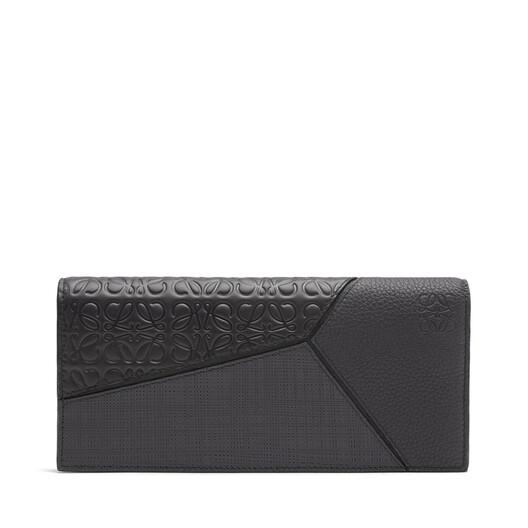 LOEWE Billet Largo Horizontal Puzzle Negro front