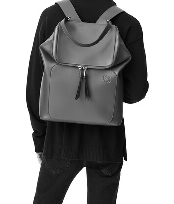 LOEWE Goya Backpack 靛藍 front