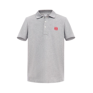 LOEWE Anagram Polo Grey front