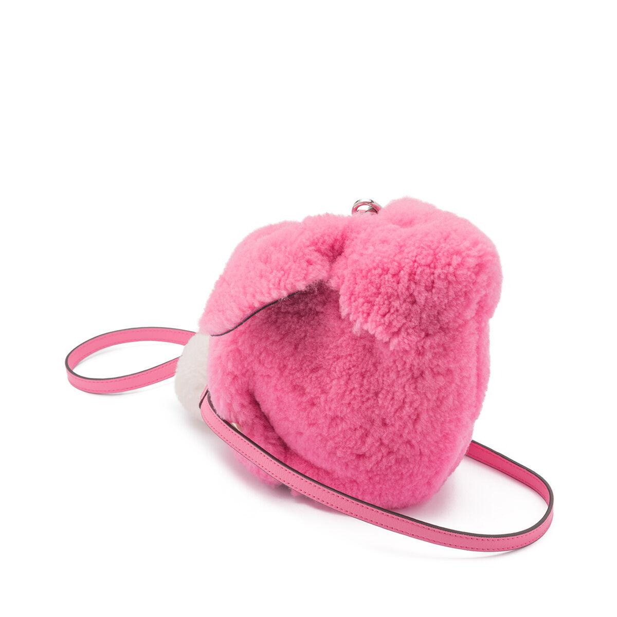 LOEWE Bunny Mini Bag Wild Rose front
