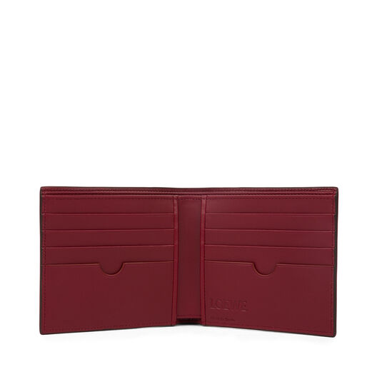 LOEWE Bifold Wallet Chocolate/Burgundy all