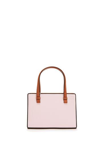LOEWE ポスタルバッグ スモール(ソフト ナチュラル カーフスキン) Icy Pink/Tan pdp_rd