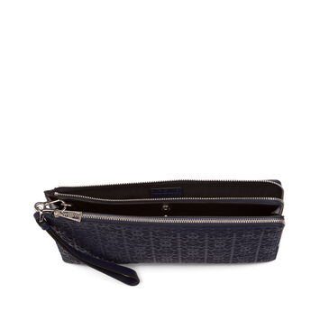 LOEWE Double Flat Pouch Marine front