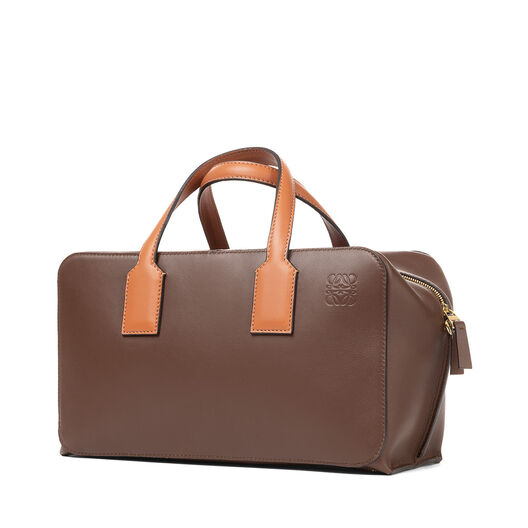 LOEWE Landscape Bag Chocolate Brown/Tan all