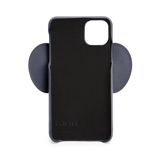 LOEWE Elephant Cover For Iphone 11 Pro Max Deep Blue front