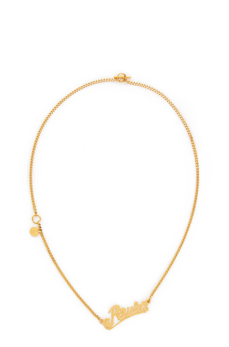 LOEWE Paula's Necklace In Brass Gold pdp_rd